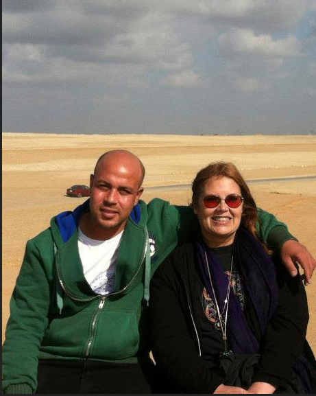 Yousef and Patricia Awyan of the KSAM