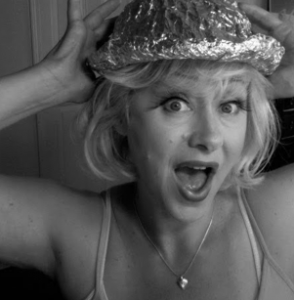 Tinfoil Hat Lady